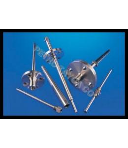 انواع ترموول,ترموول راست ,مخروطی, پله ای,دنده ای, فلنج دار,غلاف ترموکوپل